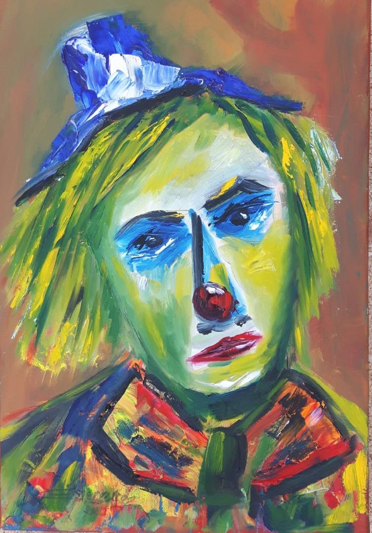 Martial Perrucon - Clown dans la lumière