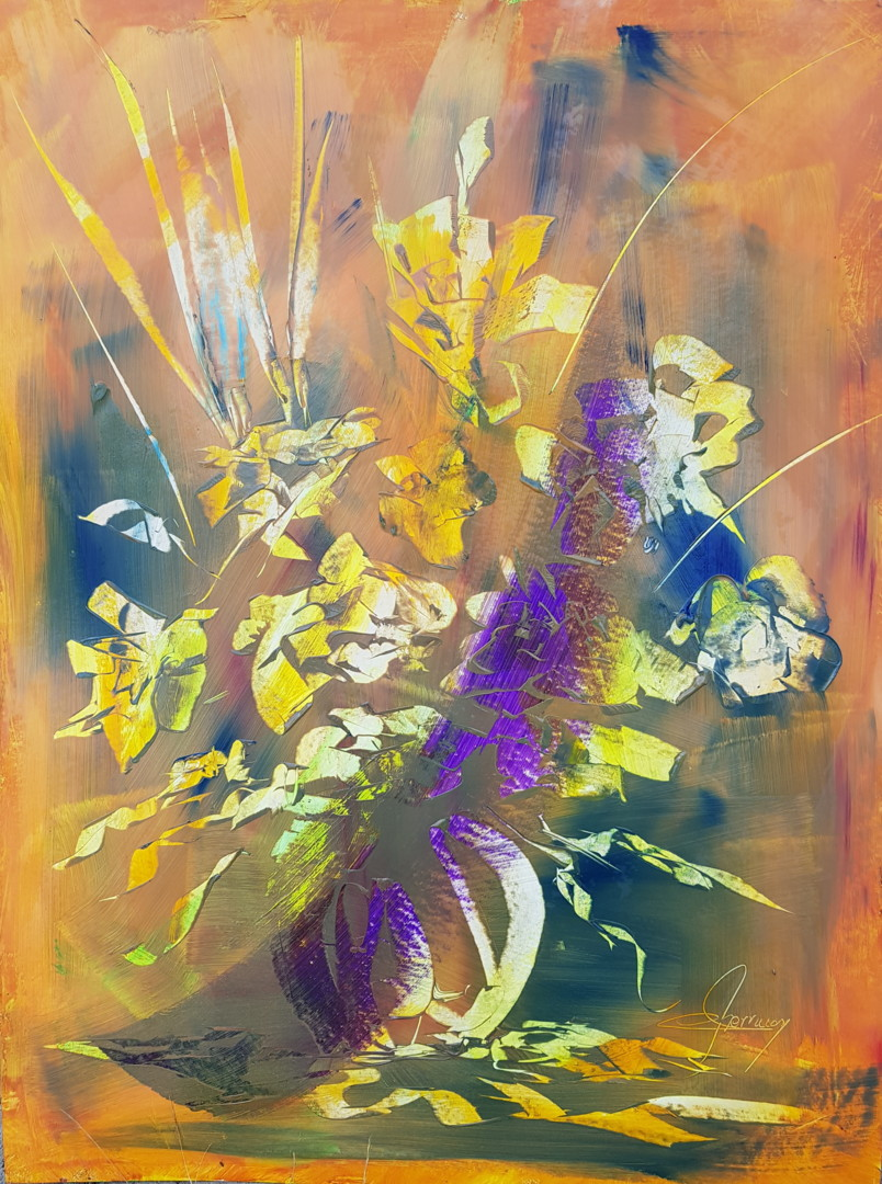 Martial Perrucon - bouquet imaginaire.