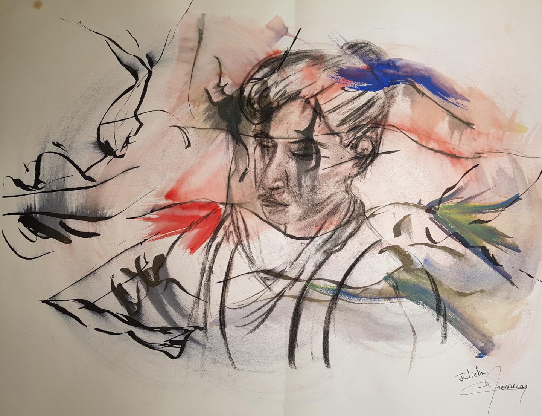Martial Perrucon - Julieta : la songeuse